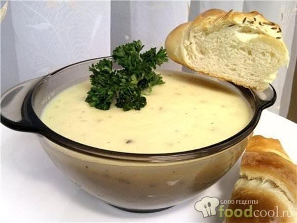 пряный чесночно-сливочный суп